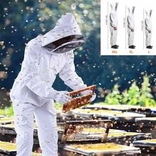 Пчеловоды полный тело защитный костюм пчеловода Профессиональный пчелиный защитный костюм пчеловода Safty вуаль Шляпа платье все тело оборудование