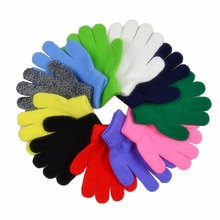 Knitted Mittens Gloves Warm
