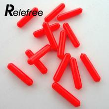 Relefree 100Pcs Fishing Float Stops For Bobber Line Grips Floater Carp Tackle Gear Tool
