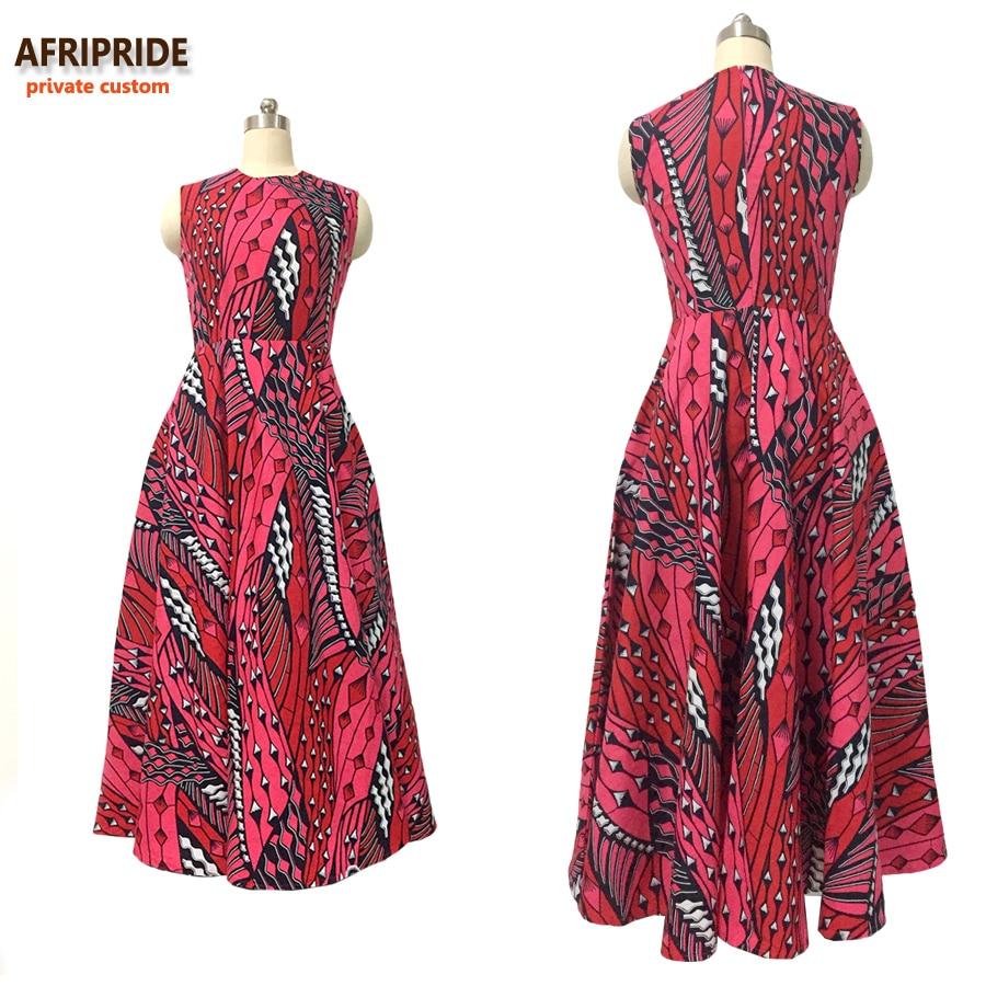 AFRIPRIDE sleeveless tailor ankara