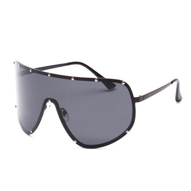 490a97dd18a49 Oculos de sol Feminino óculos Grandes óculos de Armação Óculos De Sol Das Mulheres  Retro Preto