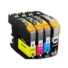1set  LC223 LC 223 Compatible Ink Cartridges For Brother DCP-J4120DW MFC-J4620DW J5320DW J5720DW Printer