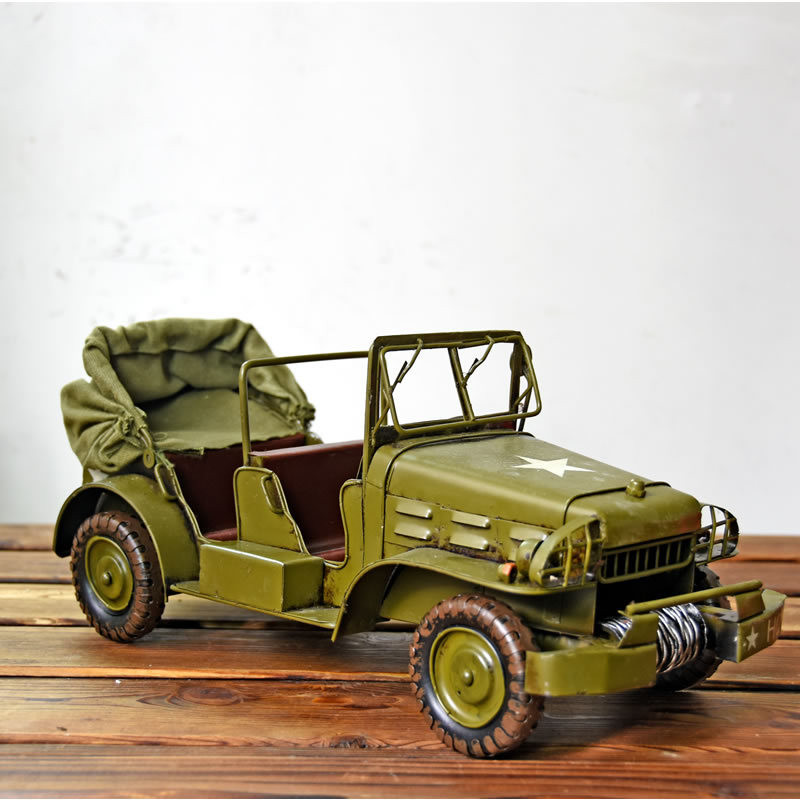 Handmade Metal Car Model Crafts Home Decor Miniature American Car Kids Creative Christmas Birthday Gifts Vintage Car Figurines