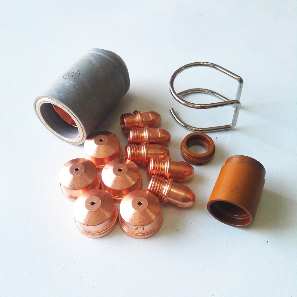Plasma cutting torches High Frequency P141 A141 LT141 torch electrode nozzle shield wear parts CUT LGK