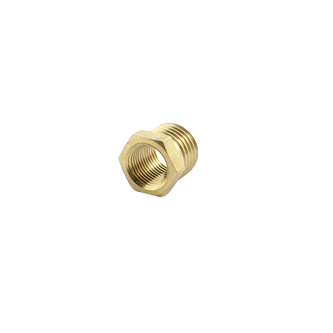 UXCELL 1/4Pt To 1/8Pt Male/Female Thread Air Hose Tube Fittings Hex Head Socket Pipe Adapter Plug Caps hex bushing 1 2 pt female threaded straight oil air pipe connector