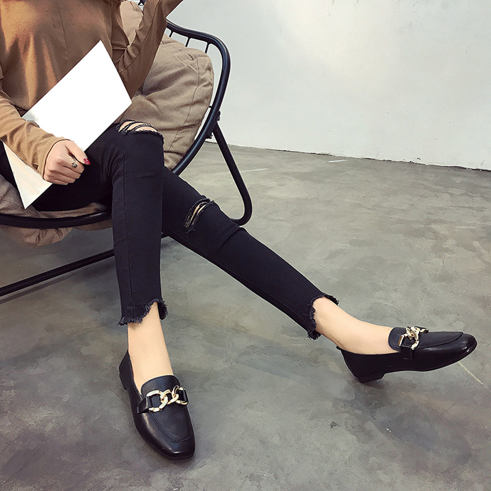 Women Flats Candy Color Shoes
