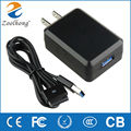 15V 1.2A/5V 2A laptop AC power adapter charger for Asus Eee Pad TF101 TF201 TF300 TF700 TF300T TF700T SL101 Tablet US/EU/UK Plug