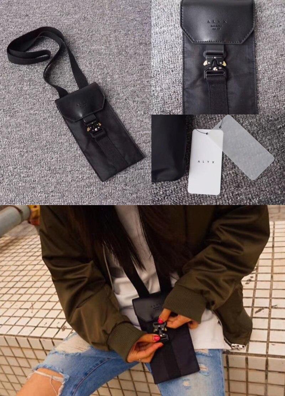 Alyx Satchel cross shoulder bag Backpacks New arrived hip-hop streetwear functional Casual kanye west