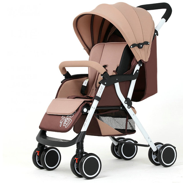 Ultra light 5.6KG Baby Stroller, Portable Fold Baby Carriage, front wheel shock proof Baby Cart with mosquito net