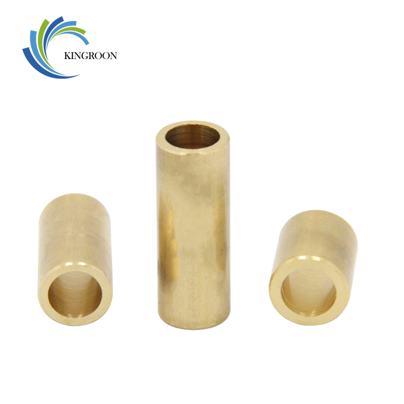 5pcs/Lot Self-lubricating Copper Sleeve Bearings Slide 3D Printers Parts Metallurgy Bushing Brass Parts Accessories 8*12*15mm refined iron powder metallurgy parts manufacturing 014