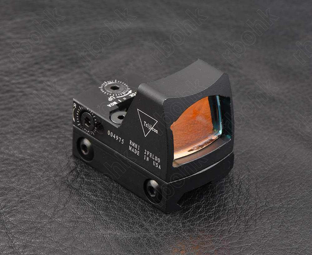 Mini RMR Style 1x Red Dot Sight Scope Reflex With Picatinny Rail Mount Metal Hunting M4379
