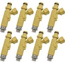 8PCS 23250 11130 23209 11130 2325011130 2320911 Fuel Injector Nozzle For Toyota Corolla EE111 4EFE EE10# 5EFE Caldina ET196