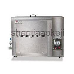 Separacji oleju i wody frytkownica handlowa z pojedynczym cylindrem elektryczna smażalnica o dużej pojemności kontroli temperatury fryty maszyny
