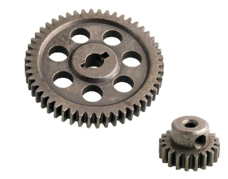 HSP 1/16 50T Universal Main Gear for 94186 94185 94687 and 1:16 20T motor gear for RC Buggy car Gear no. 18250 18220(28014) hsp 1 16 scale rc car parts no 86062 dog bone drive shaft suitable 94185 94186 94193 page 1