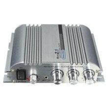 Nueva Llegada Ligera Baja Distorsión Hi-Fi CD MP3 MP4 Estéreo de Audio Del Coche Amplificador de Bajo
