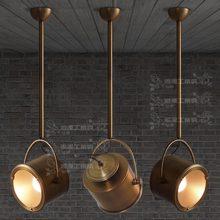 Лофт промышленные стиль ретро промышленного ветер имитация бронзы покрытие процесс специальное предложение Дженнифер pandent огни