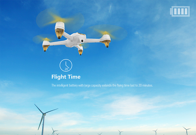 Hubsan H501S RTF X4 PRO 5.8G GPS FPV Brushless Drone Follow Me Mode Quadcopter 1080P HD Camera Remote Control Helicopter Black