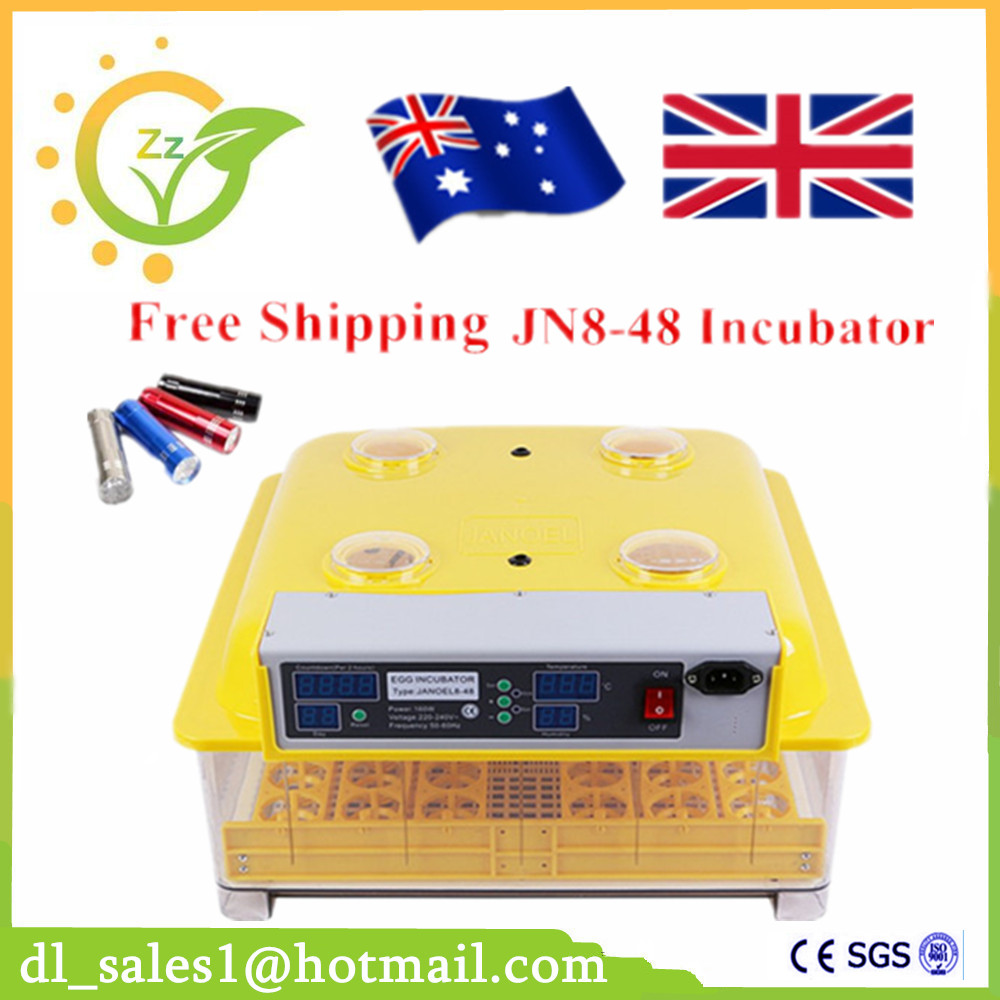 CE Approved Home Use Brooder Chicken Duck Eggs Incubators Poultry Incubator Digital 48 Eggs Automatic Industrial Incubator home use mini incubator brooder duck eggs incubators automatic chicken egg incubator hatching machine