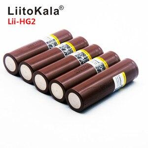Image 1 - 2019 LiitoKala HG2 18650 3000 mah נטענת סוללות כוח גבוהה פריקה, 30A גדול הנוכחי