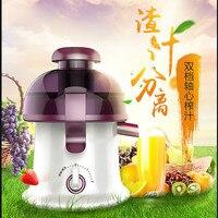 Juicers Juicer USA totalmente automático frutas e vegetais multi-função mini-Frito máquina de suco. NOVO