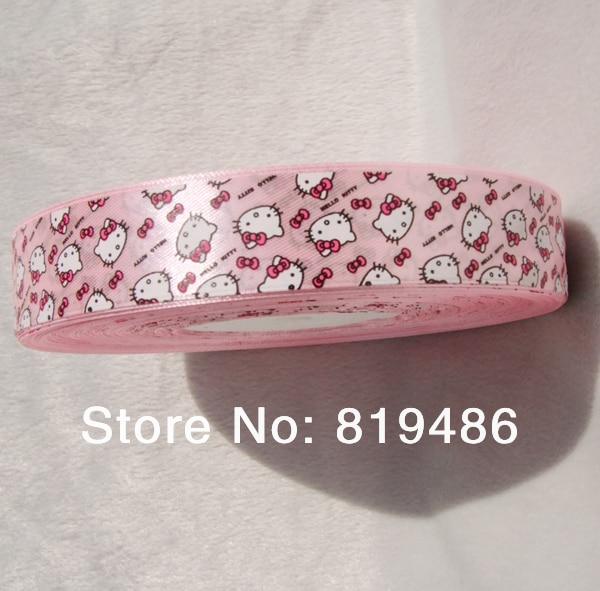 "6 yds Hello Kitty 5//8/"" Grosgrain Ribbon Hairbow Craft Gift"