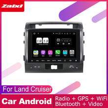 все цены на ZaiXi android car dvd gps multimedia player For Toyota Land Cruiser 2008~2012 car navigation radio video audio player Navi онлайн