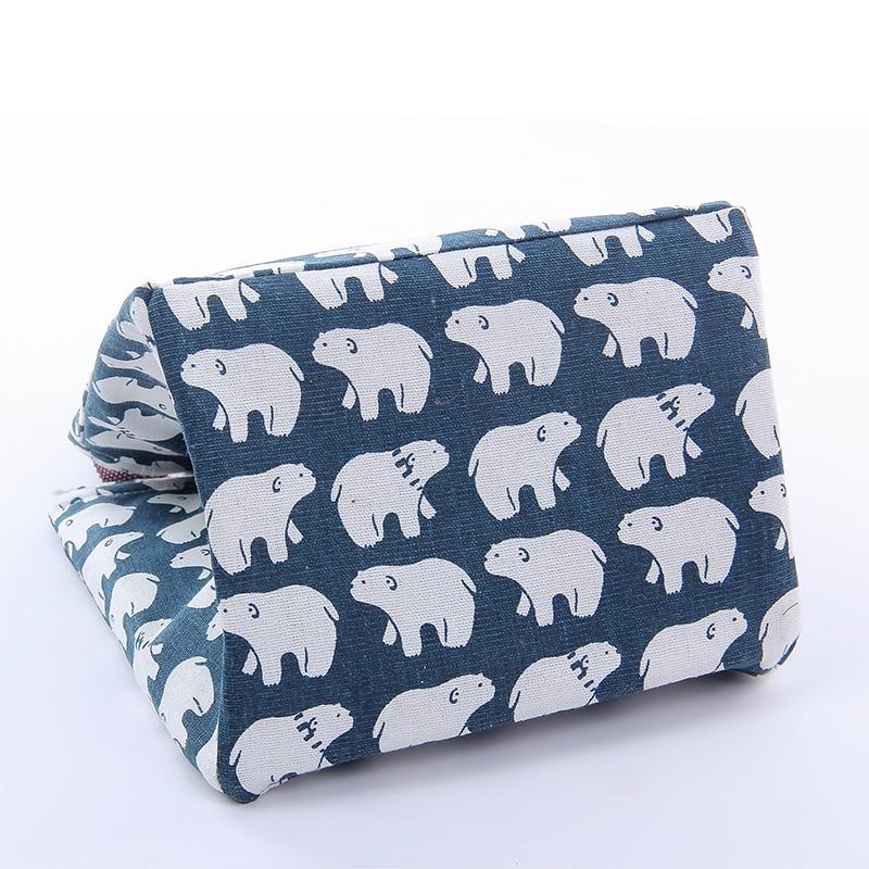 IUX Cute Animal Printed Female Shopping Tote Bag Big Canvas Handbag - Պայուսակներ - Լուսանկար 5