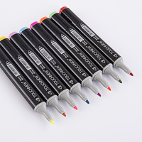 TOUCHNEW 36 48 72 Color Art Markers Set Alcoholic Oily Dual Headed School Drawing Design Marker