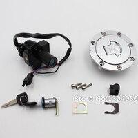 Топливные баки для мотоциклов Кепки + зажигания баррель ключ для Honda CB400 CBR400 VFR400 NSR250 NC23 Новый