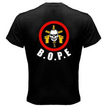 BOPE Special Forces Brazil Black Men T-Shirt Size S-3XL (on the back)(China)