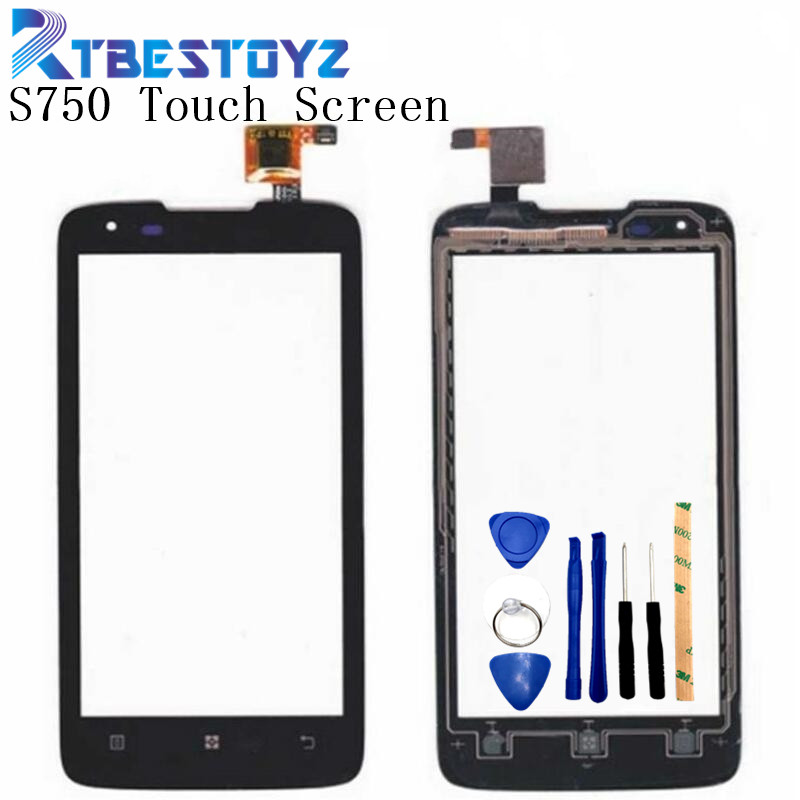 RTBESTOYZ 4.5 inch For <font><b>Lenovo</b></font> <font><b>S750</b></font> Touch Screen Panel Digitizer Glass Lens Sensor Repair Parts Replacement 100% image