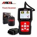 Heavy Duty Truck Diesel Scanner de Diagnóstico Leitor de Código de Falha Do Motor ABS Airbag Transmissão HD510 ANCEL para Caminhões Scania Volvo