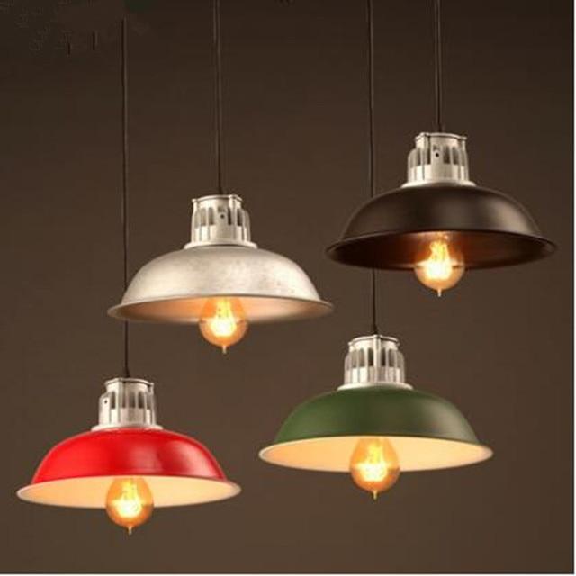 vintage lamps pendant lights aluminum casting industrial style