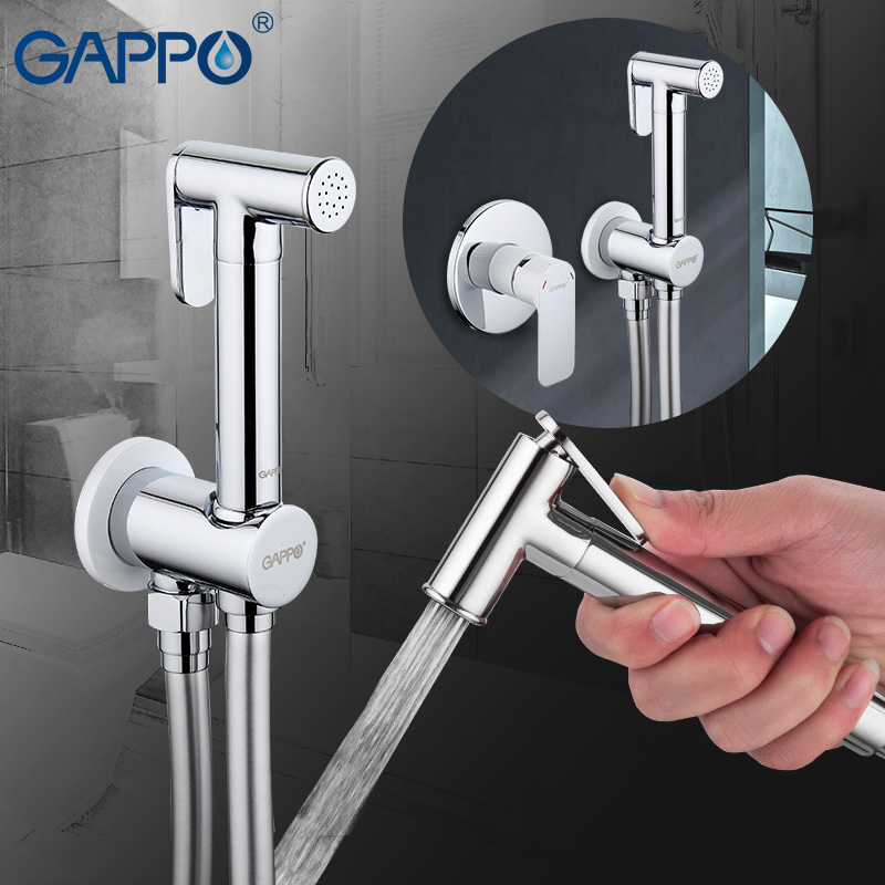 Gappo Bidet Faucets Brass Bathroom shower tap bidet sprayer Faucet Bidet toilet washer mixer muslim shower ducha higienica G7248 gappo classic chrome bathroom shower faucet bath faucet mixer tap with hand shower head set wall mounted g3260