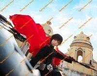 RWBY Red Trailer Ruby Rose Anime Cosplay Costume High Quality Custom Made Uniform