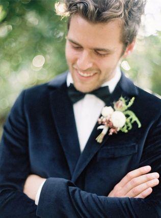 Latest Coat Pant Designs Navy Blue Velvet Wedding Men Suit Slim Fit 2 Piece Tuxedo Custom Suit Groom Prom Blazer Terno Masculino
