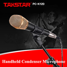 100% Original Takstar PC-K120 Handheld Condenser Microphone Professional Microphones for Network K Songs Computer Recording MIC