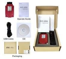 SVCI J2534 FVDI J2534 OBD2 Diagnostic Tool Ondersteuning Online Programmering en Diagnose Auto S Vervangen VCM2 Scanner DHL GRATIS VERZENDING
