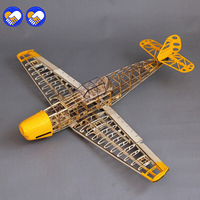 Free Shipping BF109 Model Woodiness Model Plane Bf 109 Model RC Airplane DIY BF109 Model Remote