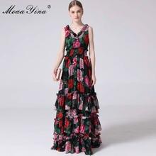 Модельное дизайнерское платье moaayina летние женские платья
