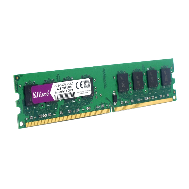 Kllisre ram DDR2 4GB 800 Mhz PC2-6400 240Pin Memory Dimm just For AMD Desktop Ram