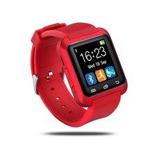 X7 marque de luxe Unisexe hommes femmes montre U80 Intelligent Bluetooth Montre-Bracelet Podomètre Saine pour iPhone Whloesale livraison gratuite