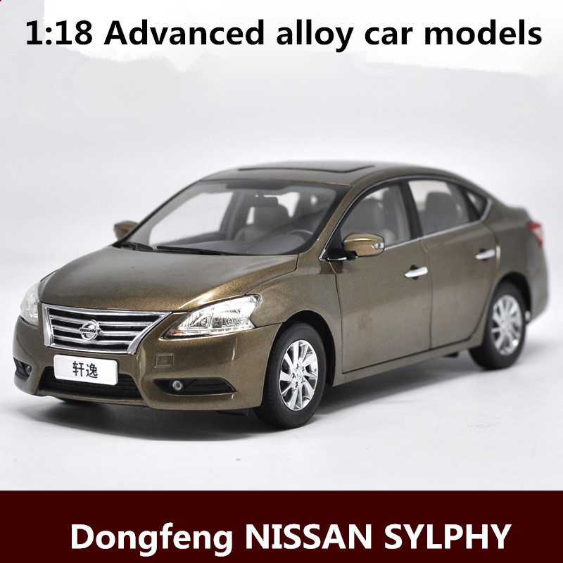 <font><b>1:18</b></font> Advanced alloy <font><b>car</b></font> models,high simulation Dongfeng <font><b>NISSAN</b></font> SYLPHY vehicles model,metal <font><b>diecasts</b></font>,toy vehicles,free shipping image