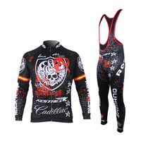 2017 Skeleton Cycling Jersey Cycling Clothing MTB Bicycle Wear Ropa Ciclismo Race Cycling Clothes Bike Cycling