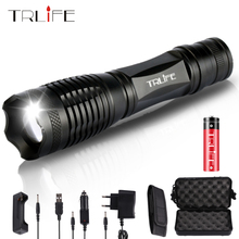 Ultra Bright V6/L2/T6 10000LM LED Torch Flashlight Zoomable LED Flash Light Lanternas For 3xAAA or 1x18650 Battery Free Shipping