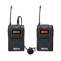 5PCS BOYA BY WM6 Lavalier Wireless Microphone System for ENG EFP DSLR Cameras & Camcorders