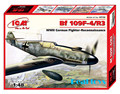ICM model 48106 1/48 Bf109F-4R6 plastic model kit