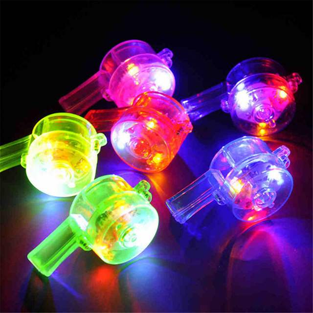 Multi Color Party Outs Ktv Whistles Kids Birthday Favors Decoration Toy Carnival Supplies Noicemaker With Rope In Novelty Lighting From