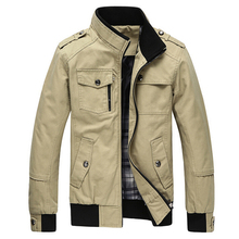Куртки мужские Случайные Куртки Хлопка Воротник Пальто Военный Мужчины Пальто куртки мужчины jaqueta masculina casaco Пальто