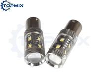 2PCS Lot High Power 12 LED Car Light Sourcing 1156 BA15S 60W Car Auto LED Turn
